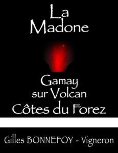 côtes du forez rouge La Madone